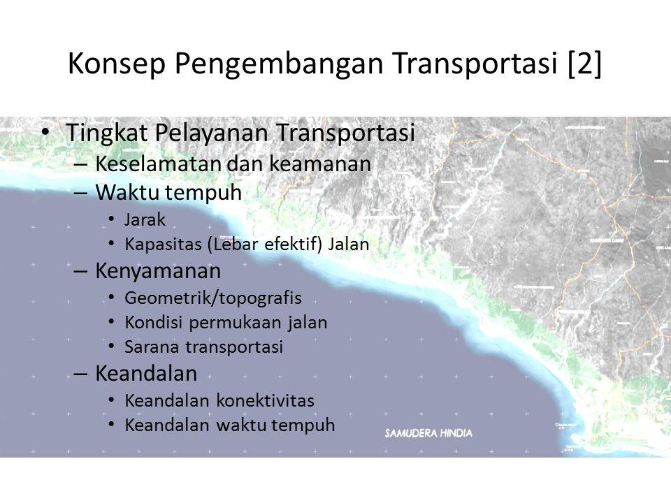 Konsep Pengembangan Transportasi [2]